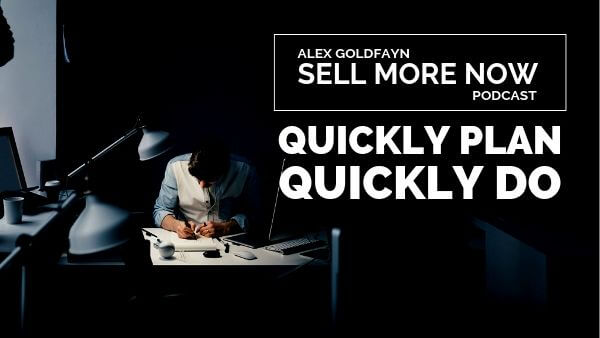 How Over-Planning Kills Sales and What To Do About It