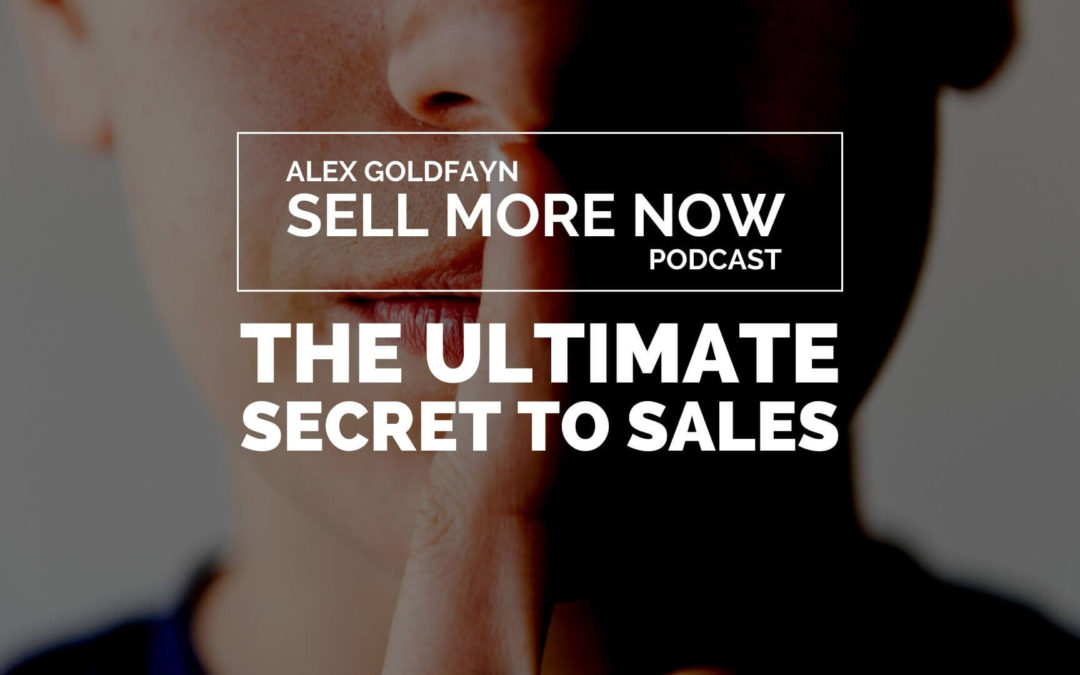 The Ultimate Secret to Sales Growth